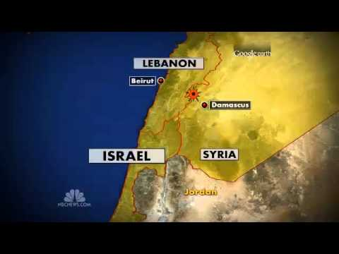 Israel : Airstrike destroys Convoy of Russian SA-17 Missiles heading to Hezbollah (Jan 30, 2013)