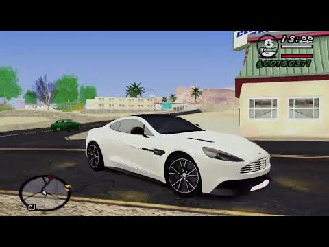 Aston Martin 2012 Vanquish V1.0  - GTA San Andreas 2014 [MOD CAR]