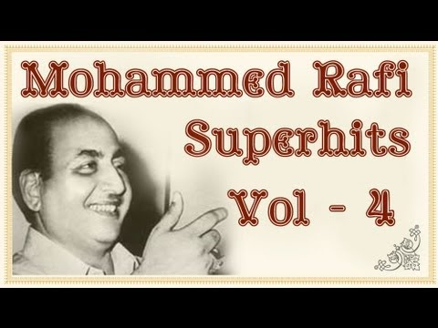 Non Stop Mohd Rafi Superhit Songs Collection (HD)  - Jukebox 4 - Mohammed Rafi Hit Songs