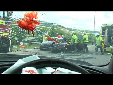 PSA Texting and Driving, U.K., August 2009, (HQ) Master Original Video