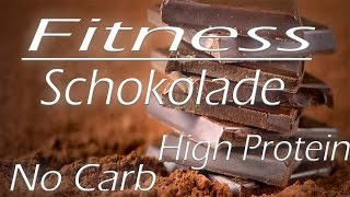 Fitness Schokoloade | High Protein| No Carb | Fitness Süßigkeit | Eat Clean