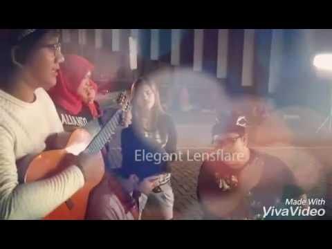 Aliando cover lagu Indonesia dangdut,  barat