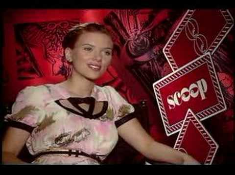 Scoop Scarlett Johansson interview Video