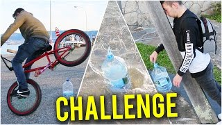 El RETO de la BOTELLA 789!! (WATER BOTTLE FLIP CHALLENGE)