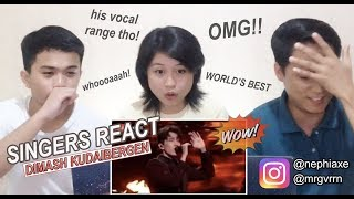 [SINGERS REACT] Dimash - World's Best 2019 Performance