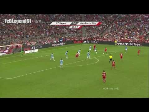 Toni Kroos vs. Manchester City / Audi-Cup Final 2013 / HD
