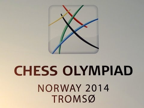 Tromsø Chess Olympiad 2014: Bacrot (France) vs Laznicka (Czech Republic). Slav defence