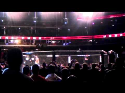 Benson Henderson and Josh Thomson live entrances UFC on FOX 10