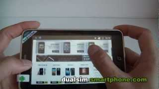 DUALSIM SMARTPHONE DAPENG A8500 plus 3G 5Inch capacitive touch screen android OS wifi gps