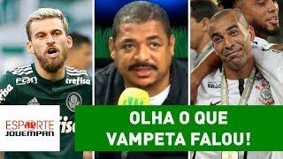 OLHA o que Vampeta falou após título do Corinthians sobre Palmeiras!