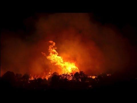 Wildfires blaze across Southwest