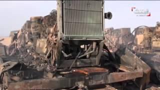 مقتل عشرات من الحوثيين وتدمير دبابات وآليات عسكرية في الضالع