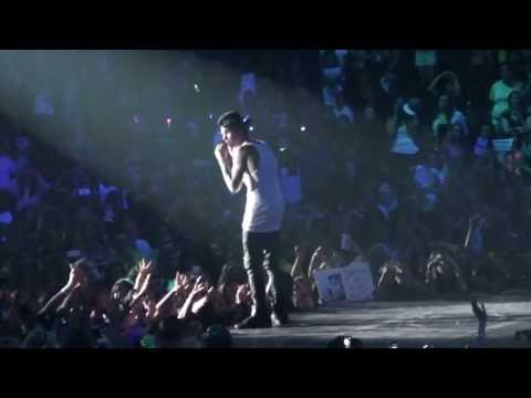 Justin Bieber - Never Say Never (san Diego) video