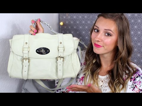 ♡ TAG - What's in my Bag + CONCOURS Baginc (So Soho Leather Medium Satchel Cream) ♡