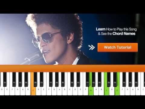 How To Play When I Was Your Man Bruno Mars Piano Tutorial & Chords
