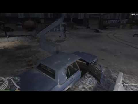 GTA 5 Франклин Миссия Барри угон машины с заначкой эвакуатор