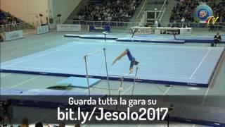 bit.ly/Jesolo2017 - DARIA SPIRIDONOVA (Parallele Asimmetriche) - Finali di Specialità