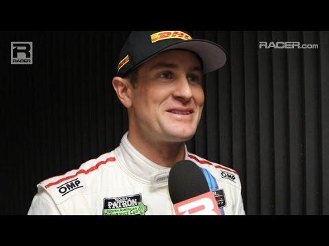 RACER: Ryan Hunter Reay at the Rolex 24 at Daytona