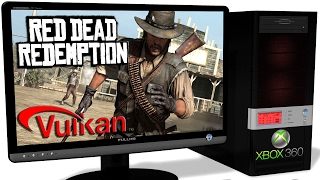 XENIA Xbox 360 Emulator - Red Dead Redemption (2010) GOTY. Ingame. Vulkan. Test #6