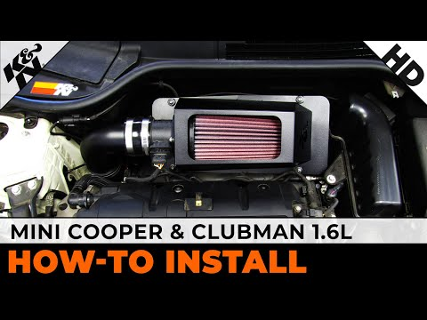 2007 to 2011 Mini Cooper 1.6L and 2008 and 2009 Clubman 1.6L Air Intake Installation Video
