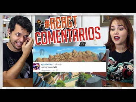REACT OS PIORES COMENTARIOS EM SITES DE NARUTO #3 (Tio Orochi)