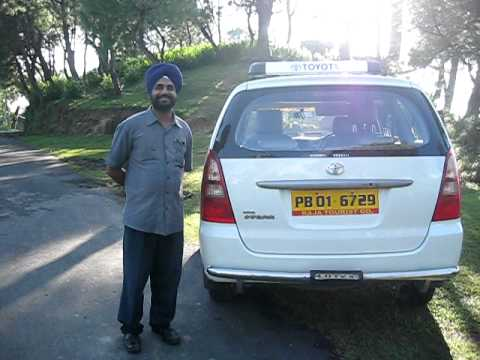 Our travel guide Shri Rajvinder along with his vehicle