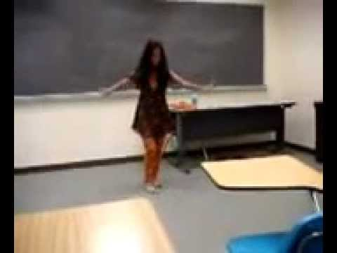 Desi Sexy Girl Dance In School Classroom video