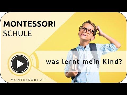 Montessori Schule -  was lernt mein Kind?   MONTESSORI.AT