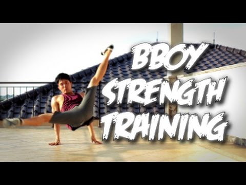 Bboy Tutorial I Bboy Strength Training I video