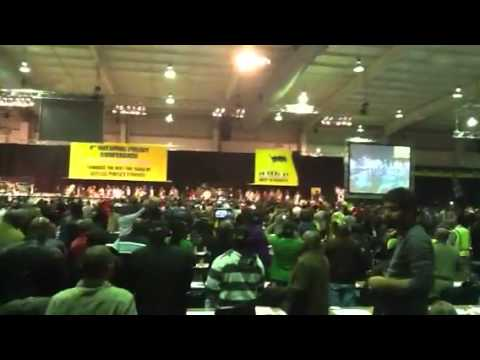 ANC Policy Conference 2012: Jacob Zuma singing
