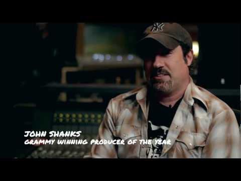 Singer-Songwriter Winner Josh Doyle with John Shanks at Henson Recording Studio