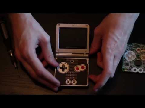 Gameboy Advance SP Screen Swap How-To