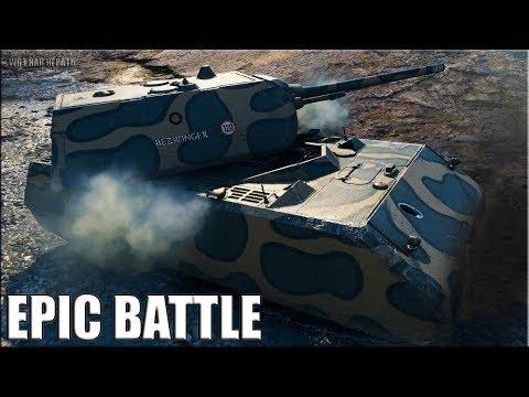 Танк МАУС лучший бой