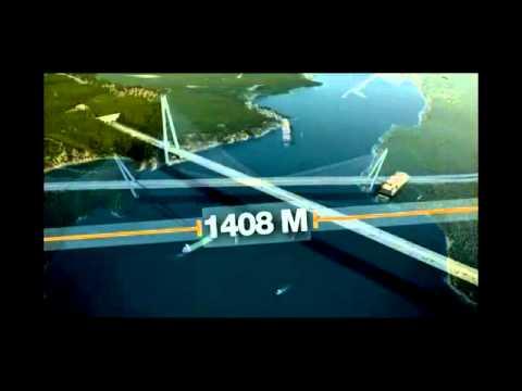 Osmangazi Köprüsü Kaç Metre, Kaç Dakikada Geçiliyor, Ne Kadara Mal Oldu ?