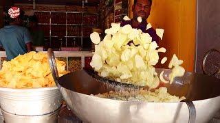 Crispy Potato Wafers | Quick and Easy Potato Chips Recipe | Street Kitchen
