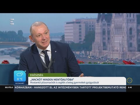 Nínó Maci bevetésen - Győrfi Pál - ECHO TV