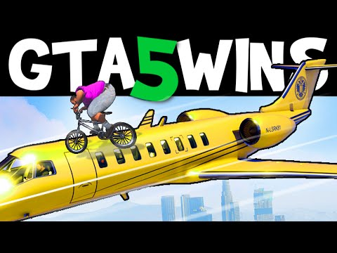 GTA 5 WINS – EP. 18 (GTA 5 Stunts, GTA 5 Funny Moments Online Grand Theft Auto V Gameplay)