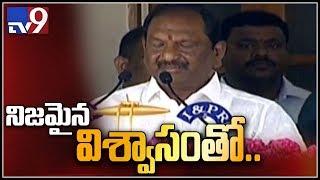 Koppula Eshwar takes oath as Minister in Telangana Cabinet