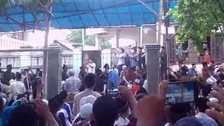 Abah kh.uci Haul syech abdul Qodir jailani ke 58 di cilongok