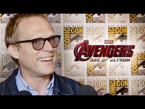 Paul Bettany Talks Vision In Avengers 2 Age of Ultron - Comic Con 2014