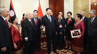 Xi urges young generation to advance China-Laos friendship