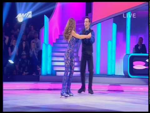 gossip tv gr stamatina tsimtsili  ANT1 Dancing on Ice
