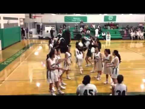 Providence High School 2011-2012 Varsity Girls Basketball introduction