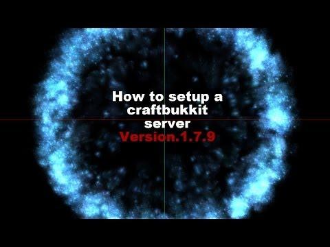 How to make a craftbukkit server 1.7.9!