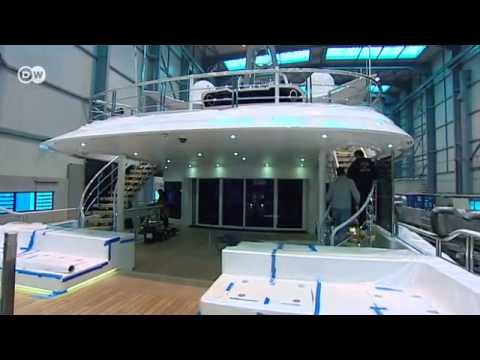 El lujo siempre vende: los megayates del astillero Nobiskrug | Hecho en Alemania