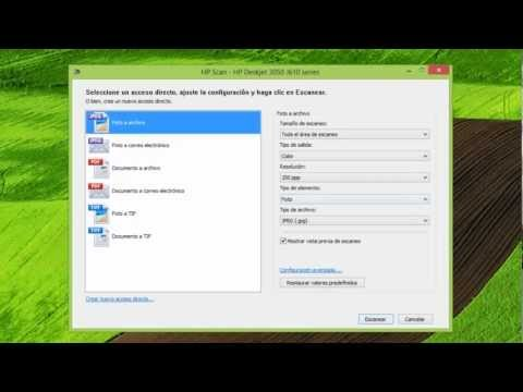 Descarga controlador de multifuncional Hp deskjet 3050 Windows 8