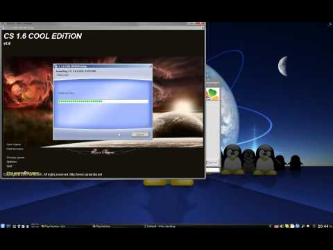 How to install cs 1.6 on Linux with Playonlinux