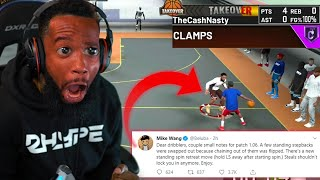 FIRST GAME WITH MY PATCHED MAXED LOCKDOWN! NBA 2K20 PARK