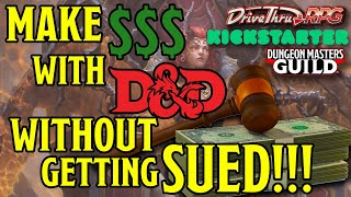 How to Make Money with Dungeons and Dragons Legally