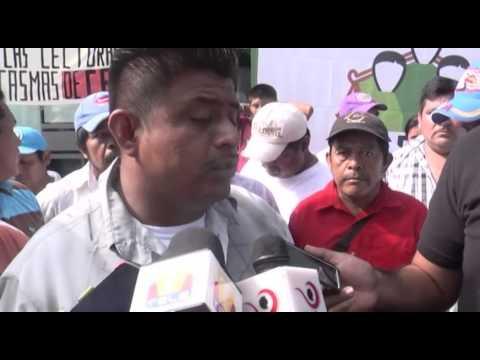 CODECI Toma CFE en Tuxtepec